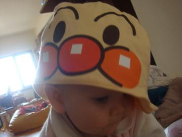 麵包超人帽 - 舅舅和舅媽從日本帶回來的麵包超人帽