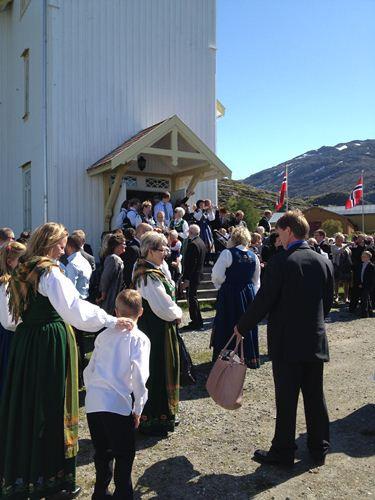 傳統的成年禮都會在教堂舉行