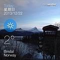挪威冬天2度,好像真的不冷...