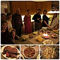 2013 New Year's Eve dinner
