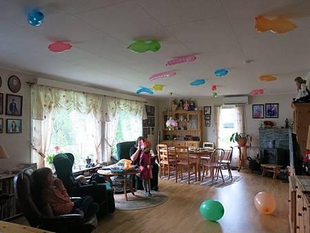 小熊寶貝生日Party 準備中