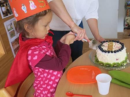 切西瓜蛋糕