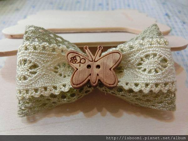 蕾絲蝴蝶結作法 (14)
