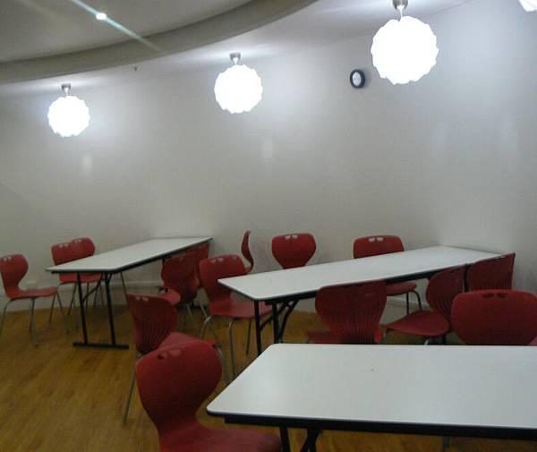AMI Education English School Lounge Area