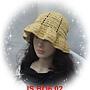 天絲拉菲草003夏帽