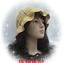 天絲拉菲草001夏帽