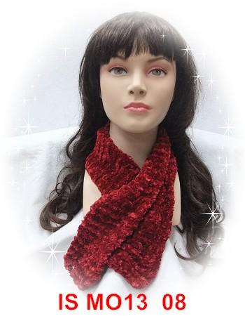 素絨絨  08004圍巾