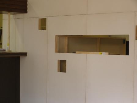 美容室的牆