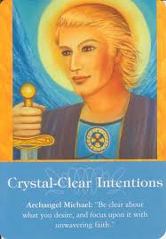 Crystal-clear intentions