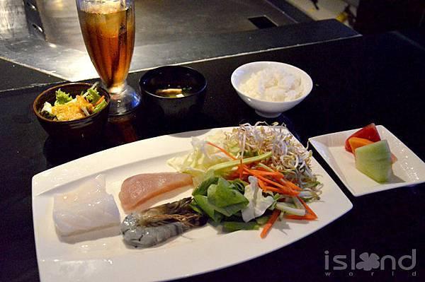 鐵板燒海鮮食材