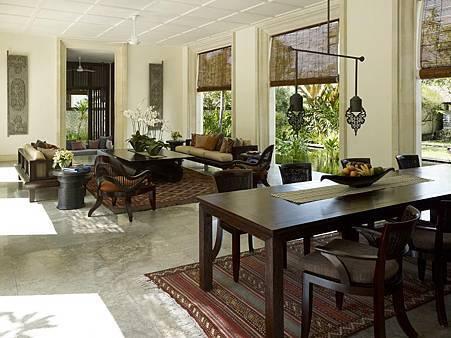 Residence Villa living area