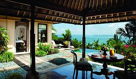 Deluxe Ocean View One Bedroom Villa