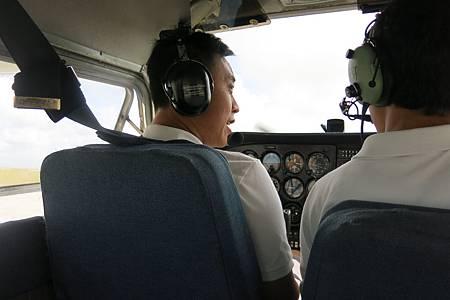 飛行體驗sky guam10.JPG
