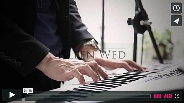 歌手樂團CF音樂MV短片製傷 二重奏-Merry Me