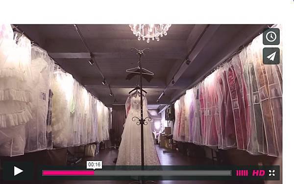 Bella婚紗工作室 室內介紹 CF短片製作