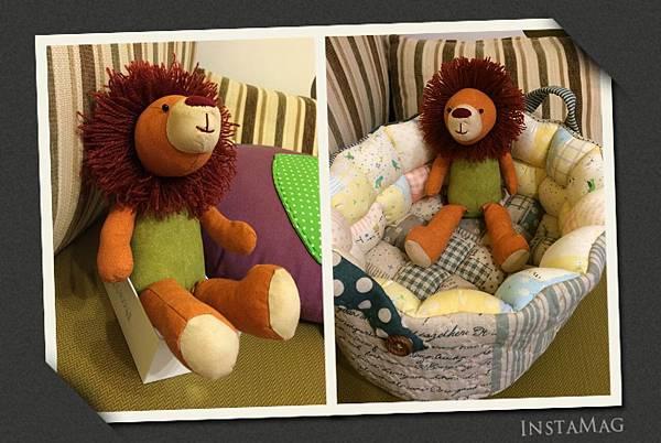 小獅王和泡芙玩具籃
