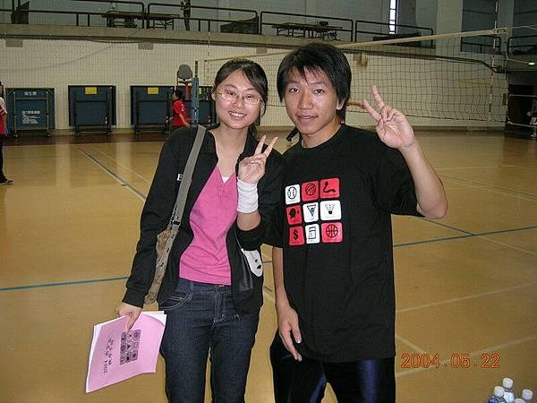 2004商管盃 with 小虎牙
