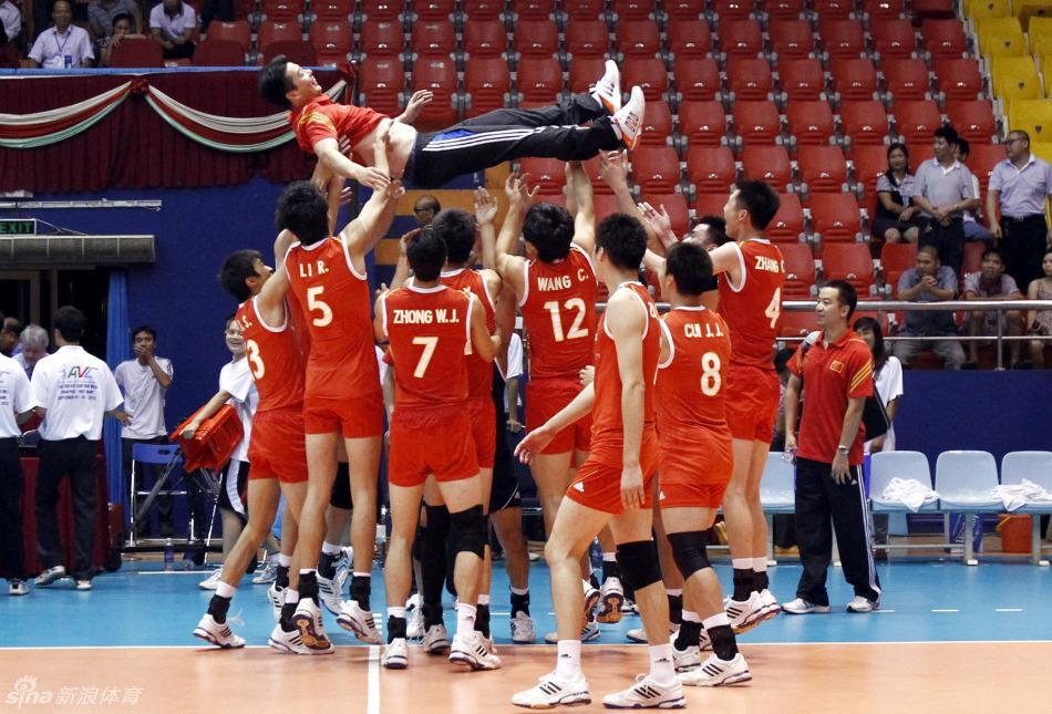 中國男排亞洲盃冠軍