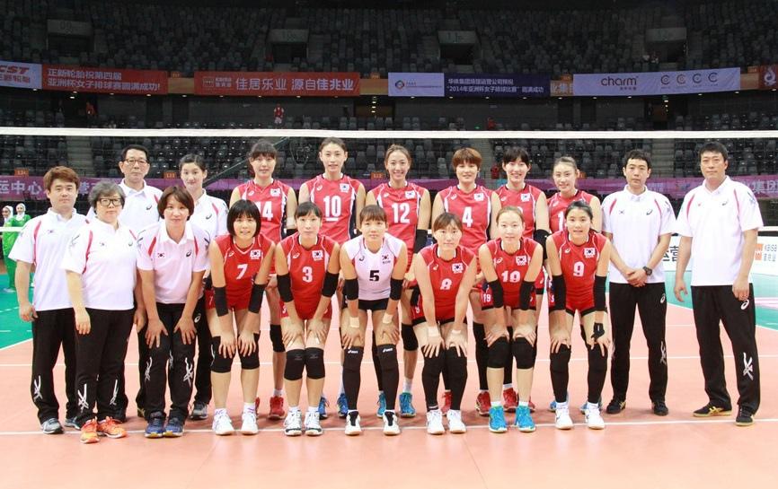 亞運韓國女排