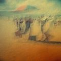 貢寮海洋音樂祭會場和我們的五百萬大傘.JPG