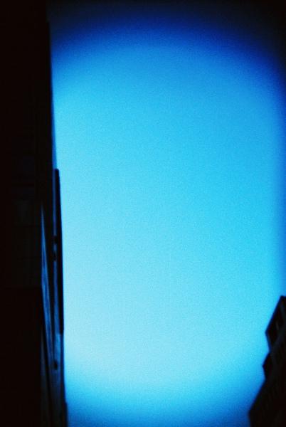 藍色間層的天空