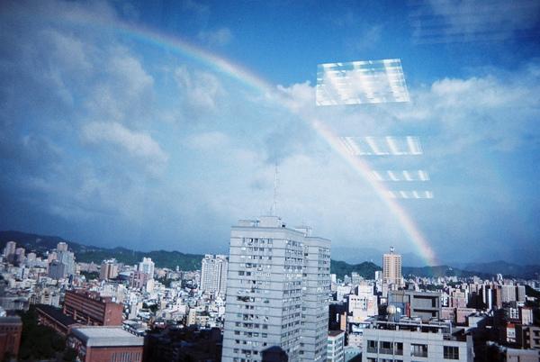 彩虹....