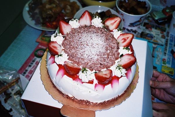 給一哥的生日蛋糕