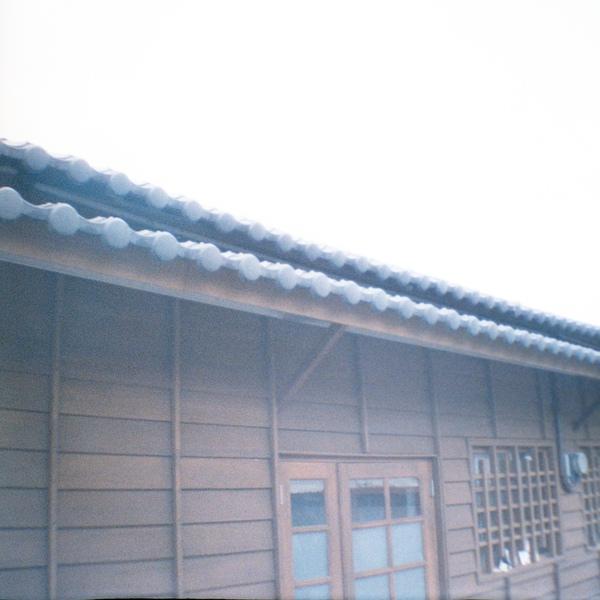 羅東林場的木頭平房