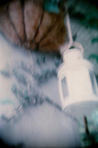 小涼亭內的燈