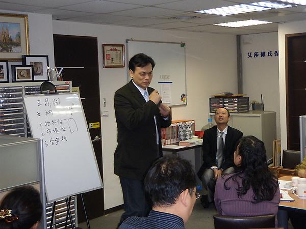 翊凡金公司蘇玉麒董事長分享成功經驗