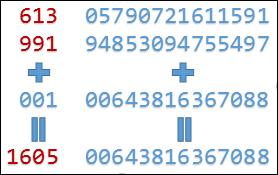Excel-顯示較多位數的費氏數列(Fibonacci number)(RIGHT,LEFT,INT)