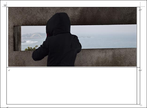 Word-在表格中插入圖片時自動調整大小以符合欄寬