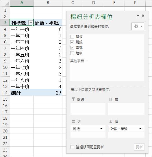 Excel-統計人次和人數(不重覆者)(SUMPRODUCT,COUNTIF