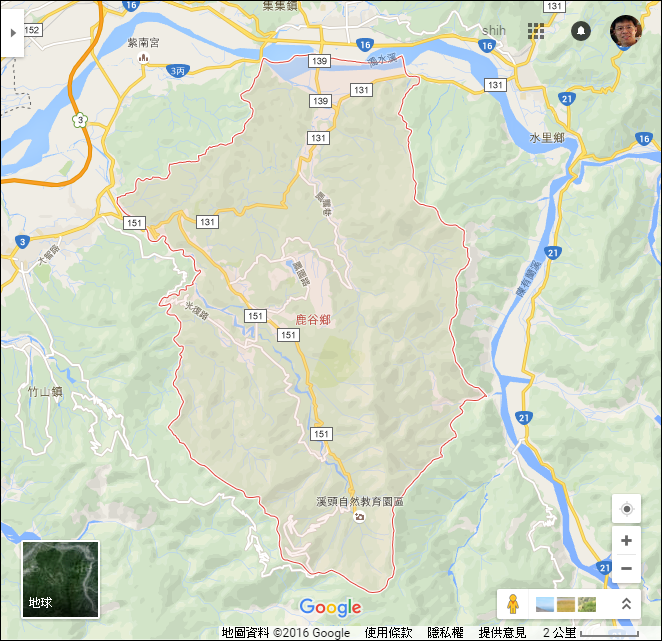 Excel-根據縣市鄉鎮市區名在Google地圖上顯示區域界線