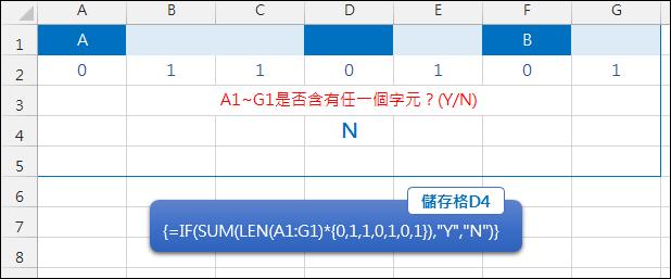 Excel-檢驗指定儲存格是否每一個都是空白(COUNTIF,LEN,陣列公式)