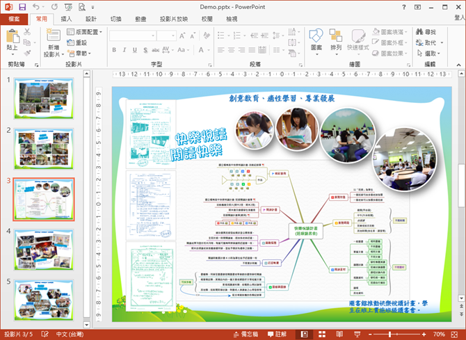 用PowerPoint製作海報,簡單、易用!