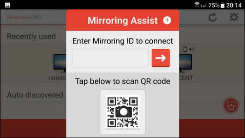 手機無線投影至電腦(以MIRRORING360為例)