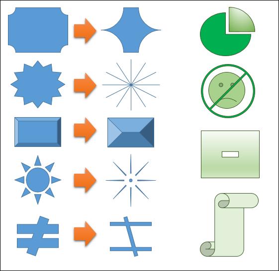 Word,Excel,PowerPoint-變化圖案的多樣性