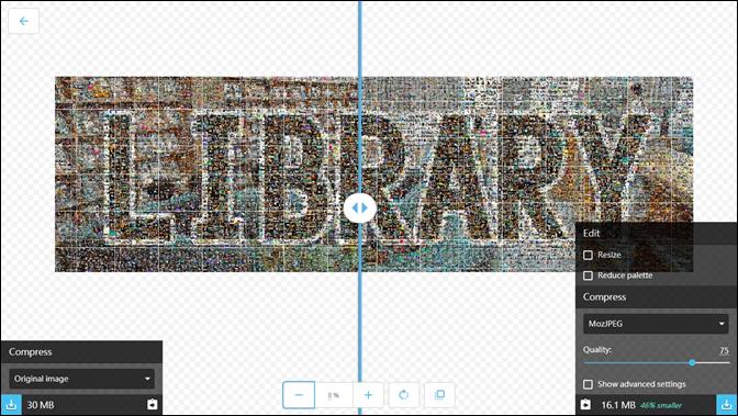 利用Google的免費線上工具壓縮圖片或轉換影像格式