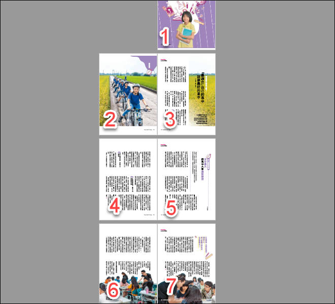 將多個不同版面大小的PDF檔,重新調整為相同版面大小的PDF檔