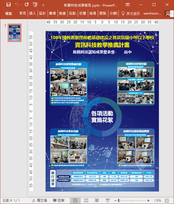 PowerPoint-設定投影片輸出成圖片的解析度