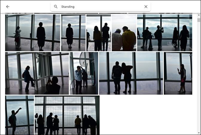 在Google相簿中搜尋文字和辨識文字