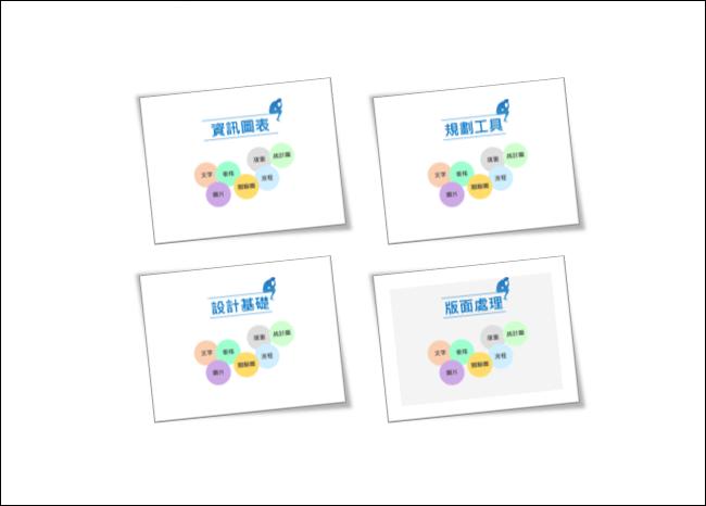 PowerPoint-使用投影片縮圖功能製作播放動態目錄