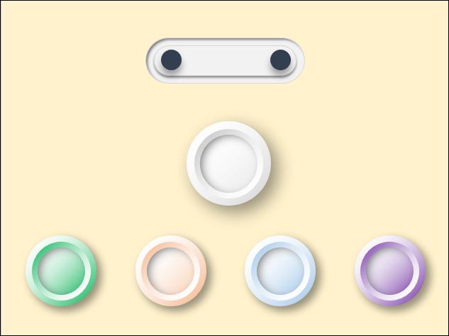 PowerPoint-以漸層和和陰影來製作立體按鈕
