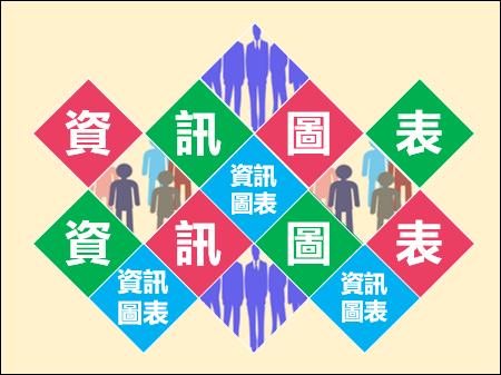 PowerPoint-拼貼菱形物件