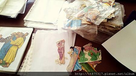 教會人形圖紙剪裁2