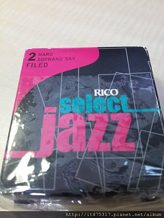 Rico Select Jazz 2H