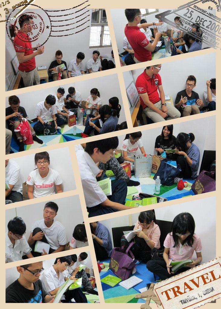 2013/06/30 問卷行前教育訓練 @大專生涯發展協會