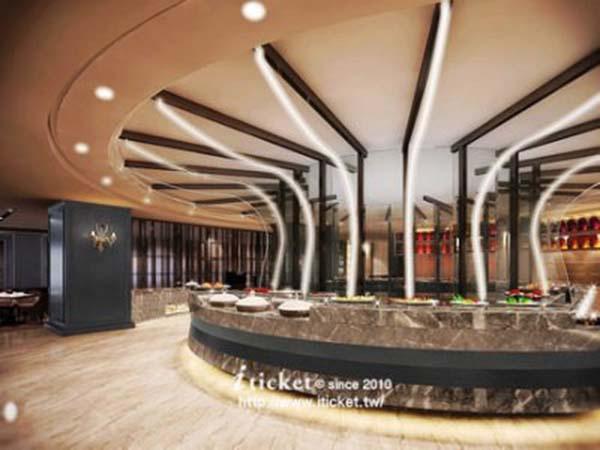 4_高雄麗尊酒店Cercle Buffet & Restaurant 艾可柏菲_供餐區、走道、大廳.jpg