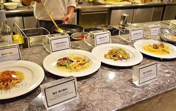 17_高雄麗尊酒店Cercle Buffet & Restaurant 艾可柏菲_現煮義大利麵.jpg